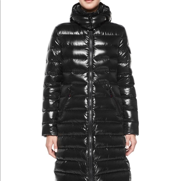 Authentic Moncler Moka Down Coat, size 1